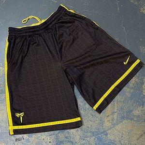 Nike Kobe Bryant Basketball Shorts 545368-547 XXL